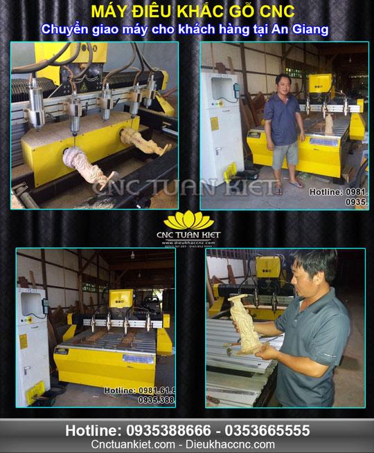 CNC Tuấn Kiệt chuyển giao máy đến khách hàng