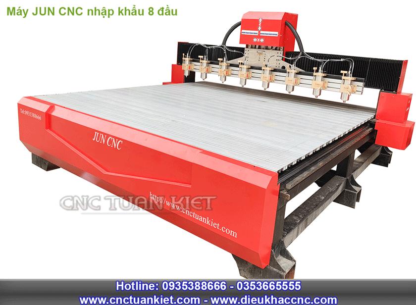 Máy JUN CNC nhập khẩu nguyên chiếc 8 đầu