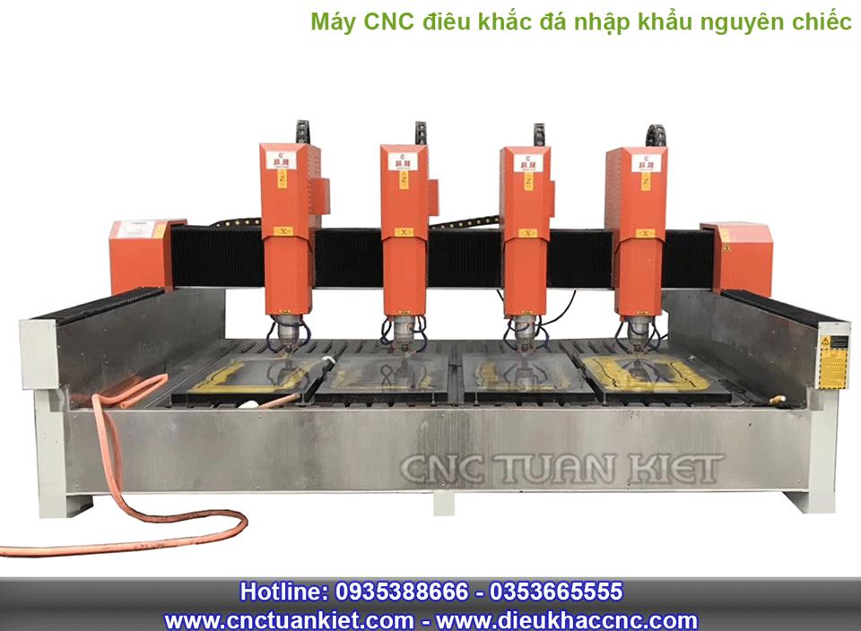 Máy điêu khắc đá CNC nhập khẩu nguyên chiếc