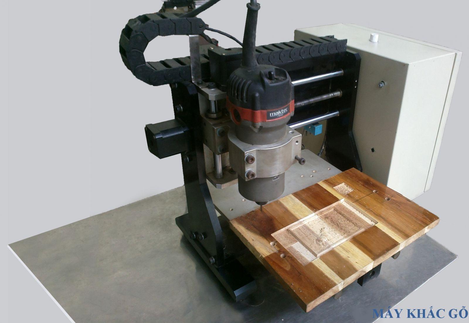 Hình ảnh máy gia công gỗ CNC