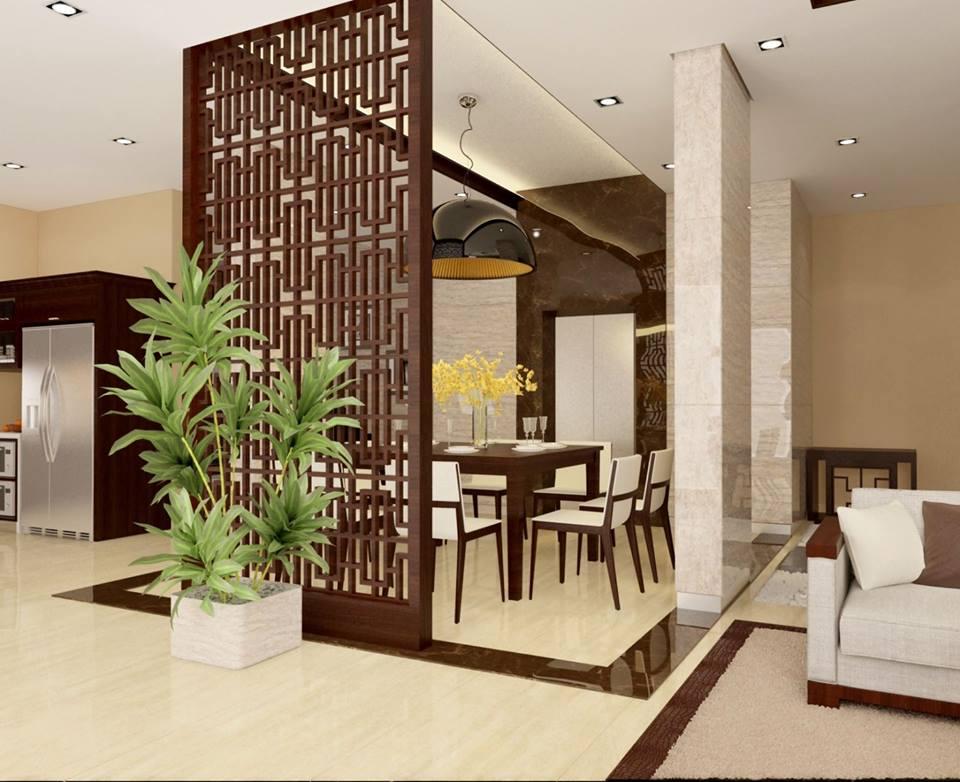 Vách gỗ CNC tạo cảm giác căn phòng thông thoáng với các họa tiết đẹp mắt