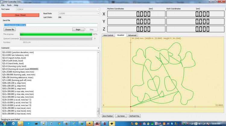 Sử dụng phần mềm Grbl Controller để chế tạo máy khắc laser