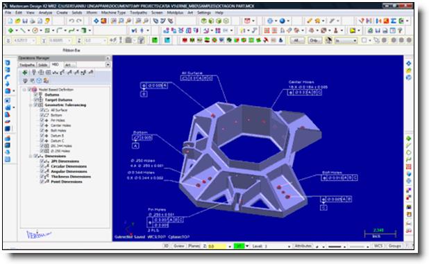 Phần mềm Mastercam- phần mềm lập trình phay 2d, 3D đơn giản