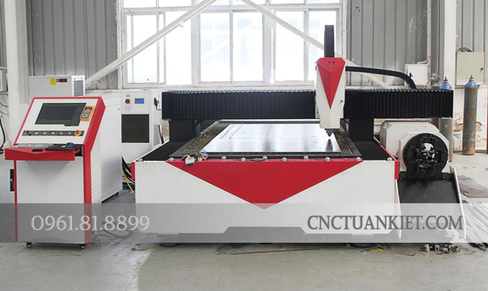 Ưu điểm cắt bằng laser fiber của máy cắt laser GF-1530T, GF-1540T, GF-1560T