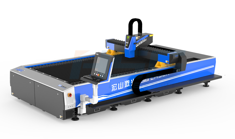 Máy cắt laser fiber (sợi quang học) HSG 1000w bằng nhiệt loại HS-G3015C