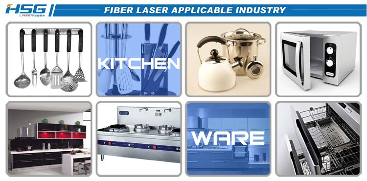 Ứng dụng của máy cắt laser fiber HS-G3015C (1000w)