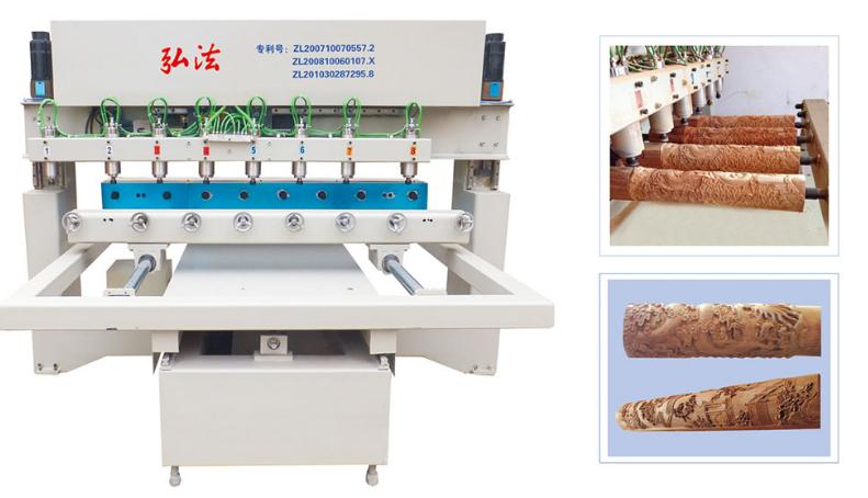 Hình ảnh máy điêu khắc gỗ CNC XZ-12025-8