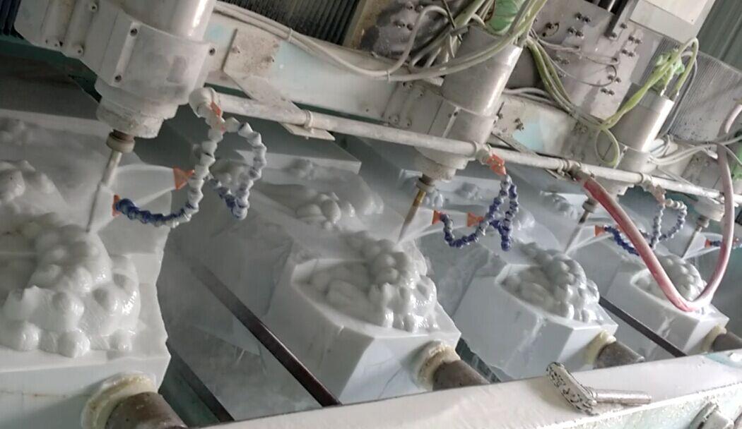 Hình ảnh máy đục đá CNC XZ/PM-20090-4
