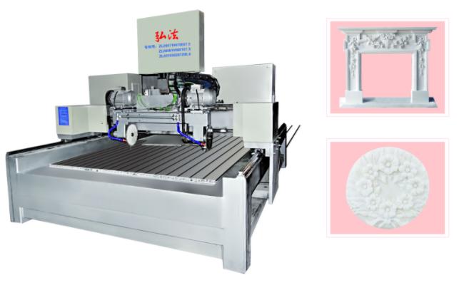 Máy khắc đá 2D PM/JP-150100-2 sử dụng lưỡi cưa cắt các vật liệu thô
