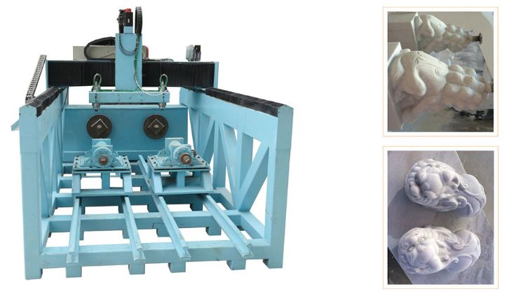 Hình ảnh máy đục khắc đá 3D XZ-250100-2