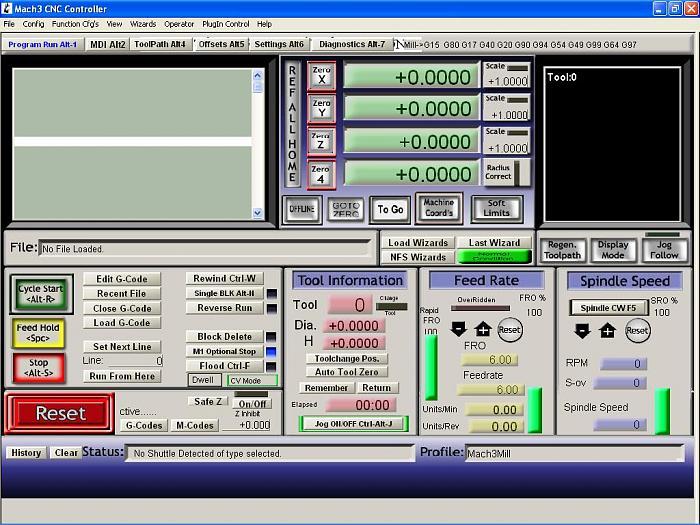 Tải phần mềm Mach3 CNC & Video hướng dẫn sử dụng phần mềm Mach 3 CNC